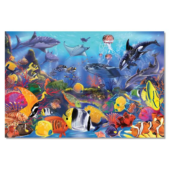 Underwater Floor Puzzle 48 pieces