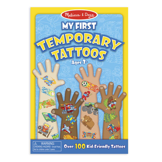 My First Temporary Tattoos-Blue