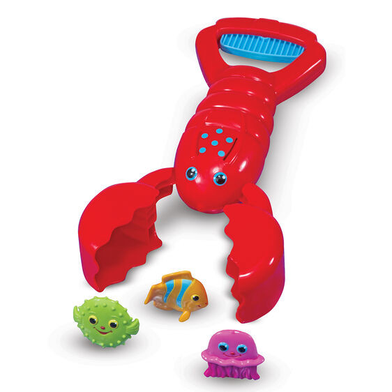 Louie Lobster Claw Catcher Toy
