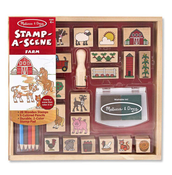 Stamp-a-Scene-On the Farm