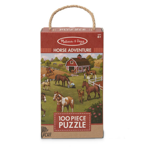 Natural Play Puzzle: Horse Adventure