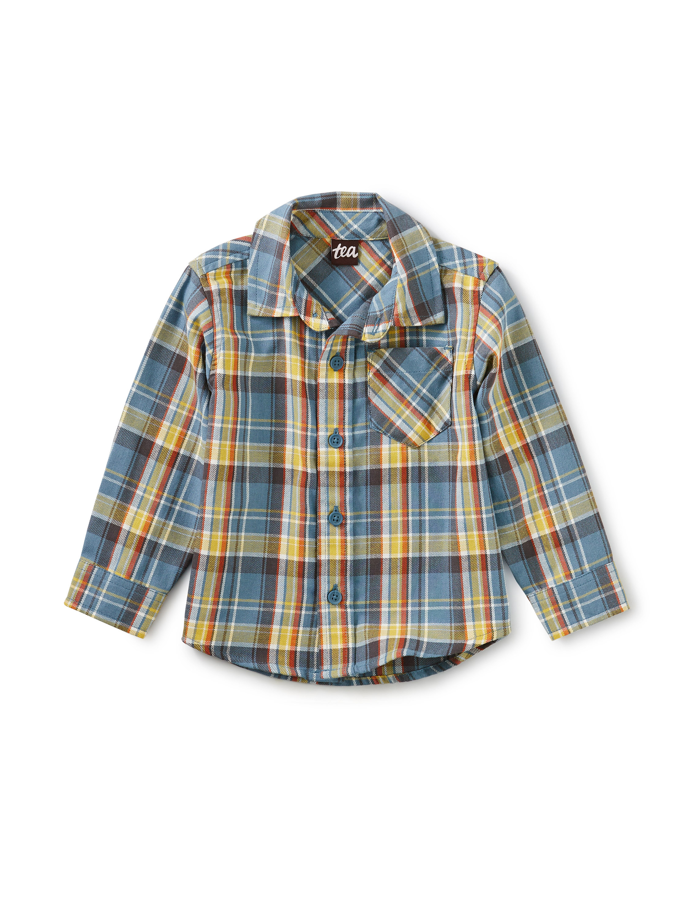 Plaid Baby Shirt Huascaran Plaid