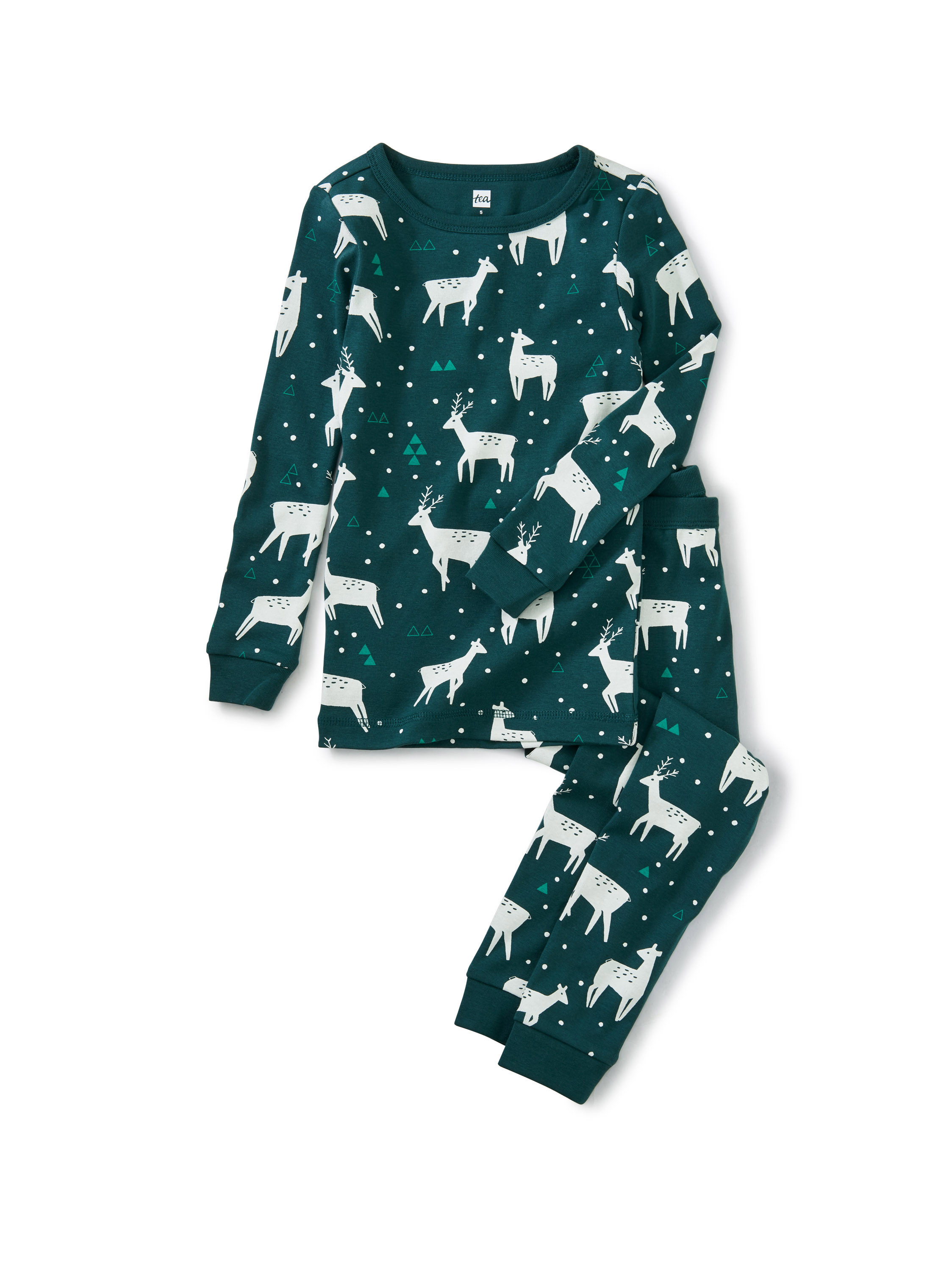 Printed Pajamas-Night Deer