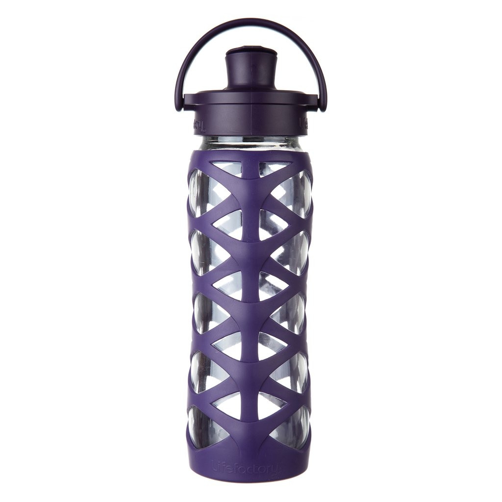 Lifefactory 22oz Glass Water Bottle