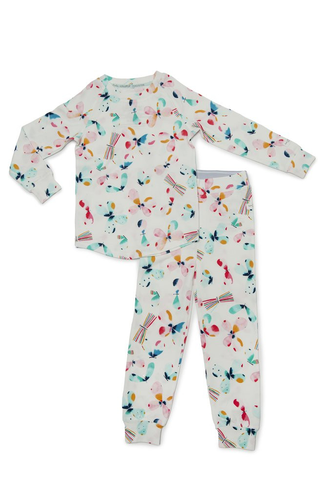 2-piece Pajama Set-Butterflies
