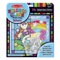 Stained Glass Made Easy-Unicorn
