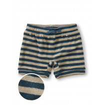 Terry Cloth Baby Short-Indian Teal