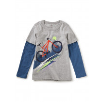 Heavy Pedal Layered Graphic Tee