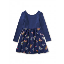 Ballet Skirted Dress-Butterfly Flurry