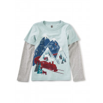 Snow Train Graphic Tee