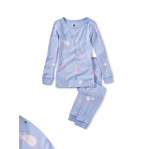 Glow Long Sleeve Pajamas-Galaxy