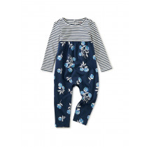 Print Mix Baby Romper-Flower Bunches