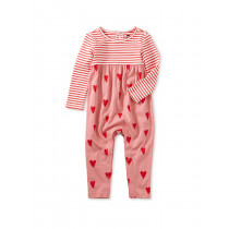 Print Mix Baby Romper-Sweethearts