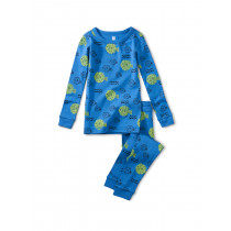 Long Sleeve Pajama Set-Blowfish Buds