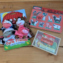 Puppet, Puzzle and Magnet Bundle