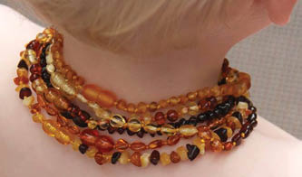 Can My Baby Wear The Baltic Amber Teething Necklace While Sleeping